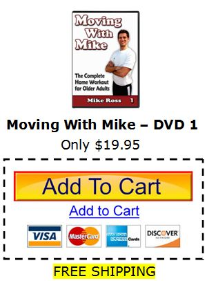Senior Exercise DVD - Moving With Mike